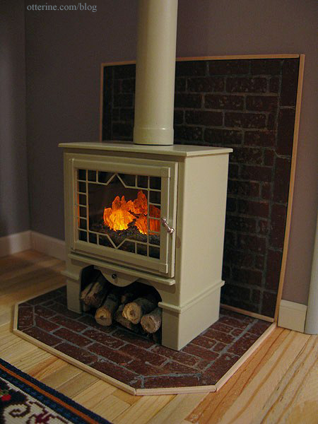 - Wood Stove, Completed