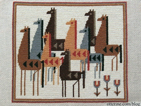 Tulip Rug Punchneedle Adapted From L R Resources Inc
