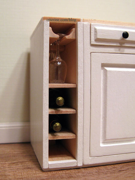 Custom built wine rack for Wine rack built in