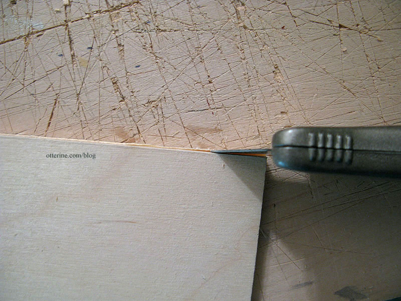 how to cut plywood without power tools