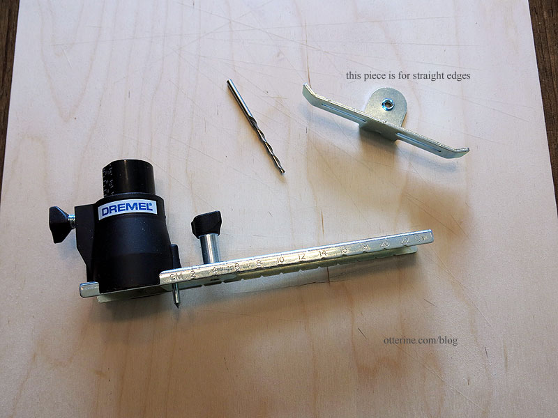 Dremel Circle Cutter And Edge Guides