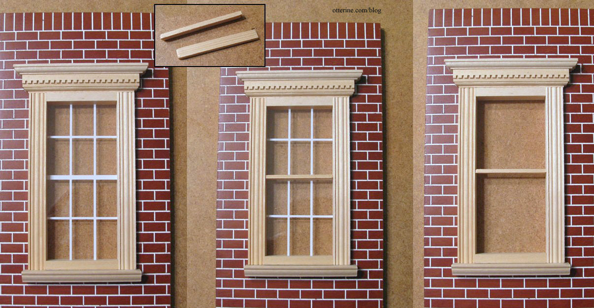 Window upgrades for Exterior window pediments